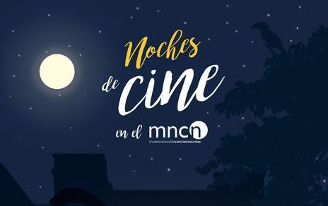 Cine de verano en los Jardines del MNCN